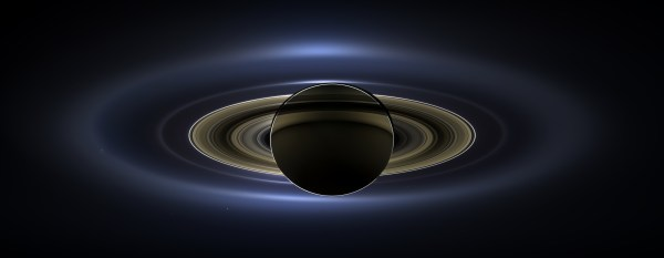 Earth From Saturn Cassini
