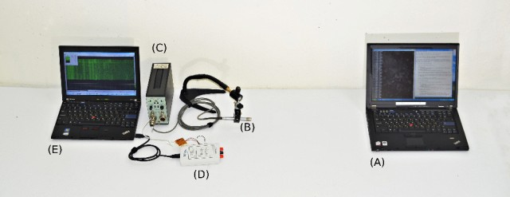 A smaller, light-weight acoustic cryptanalysis setup