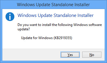 Installing Windows 8.1 Update 1