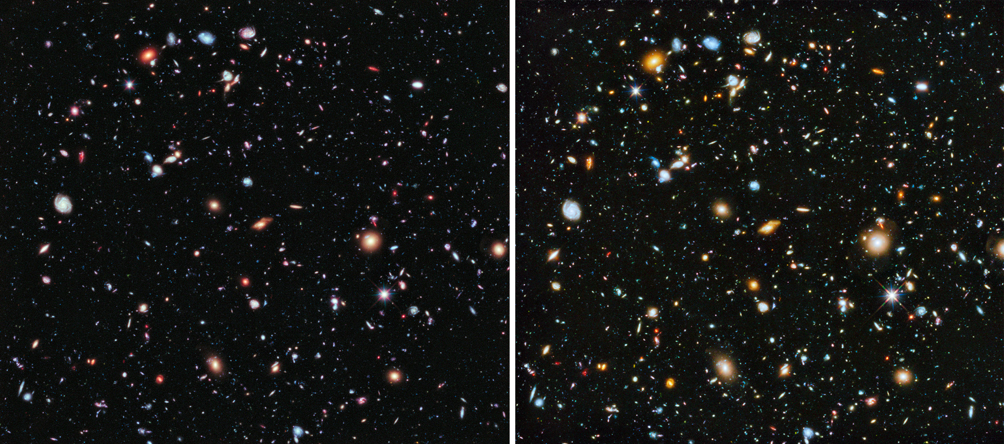 hubble captures the first