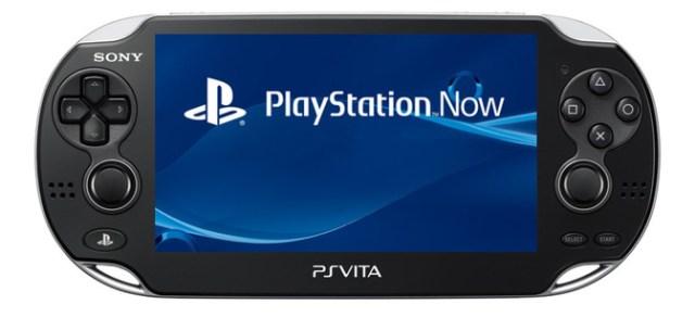 PlayStation Now, PS Vita