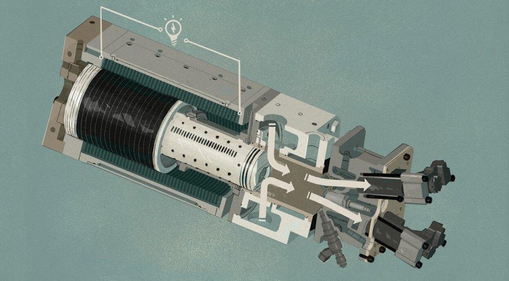 medium resolution of toyota develops high efficiency free piston no crankshaft combustion engine to power an ev