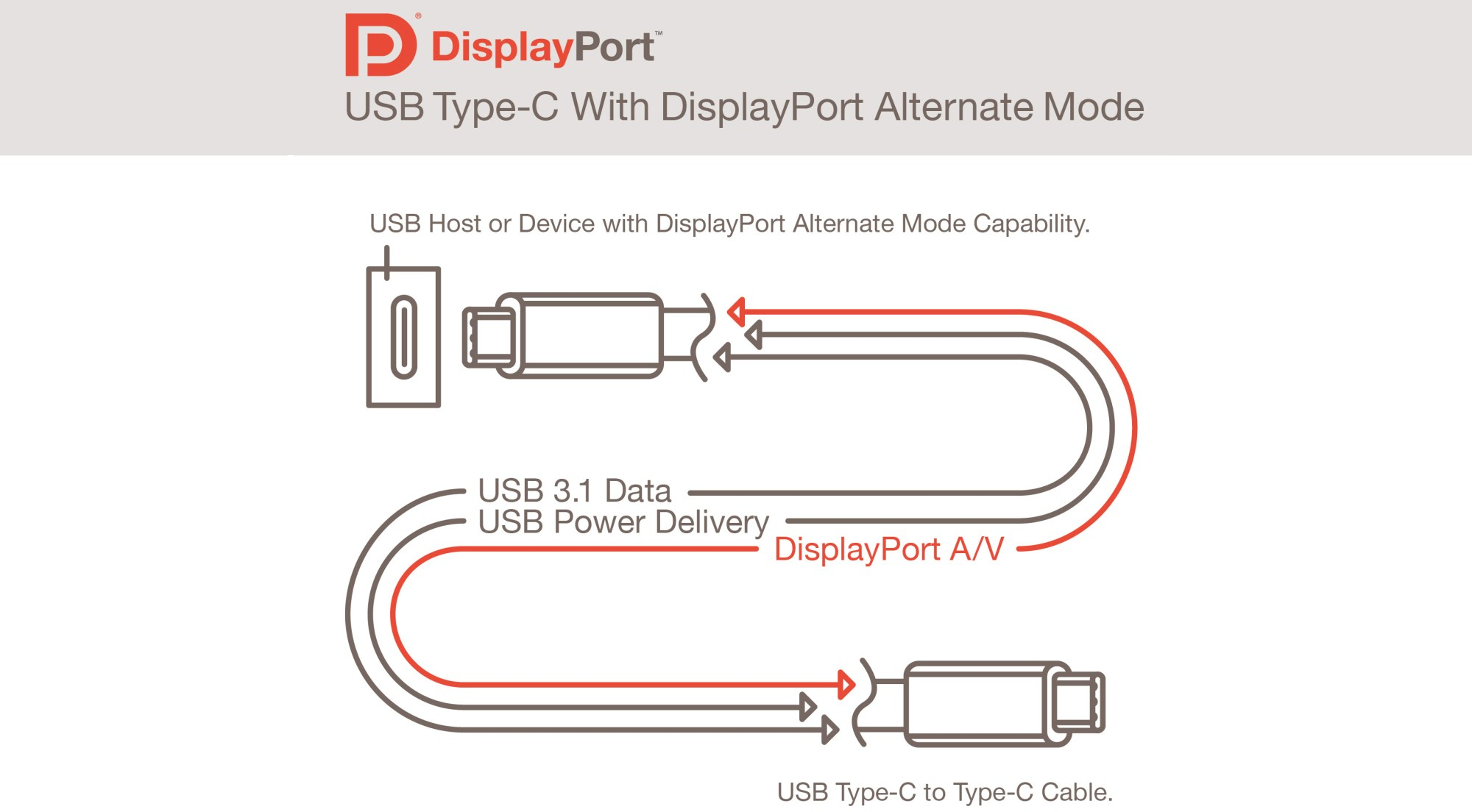 hight resolution of usb type c connector will also support displayport finally one cable will fit