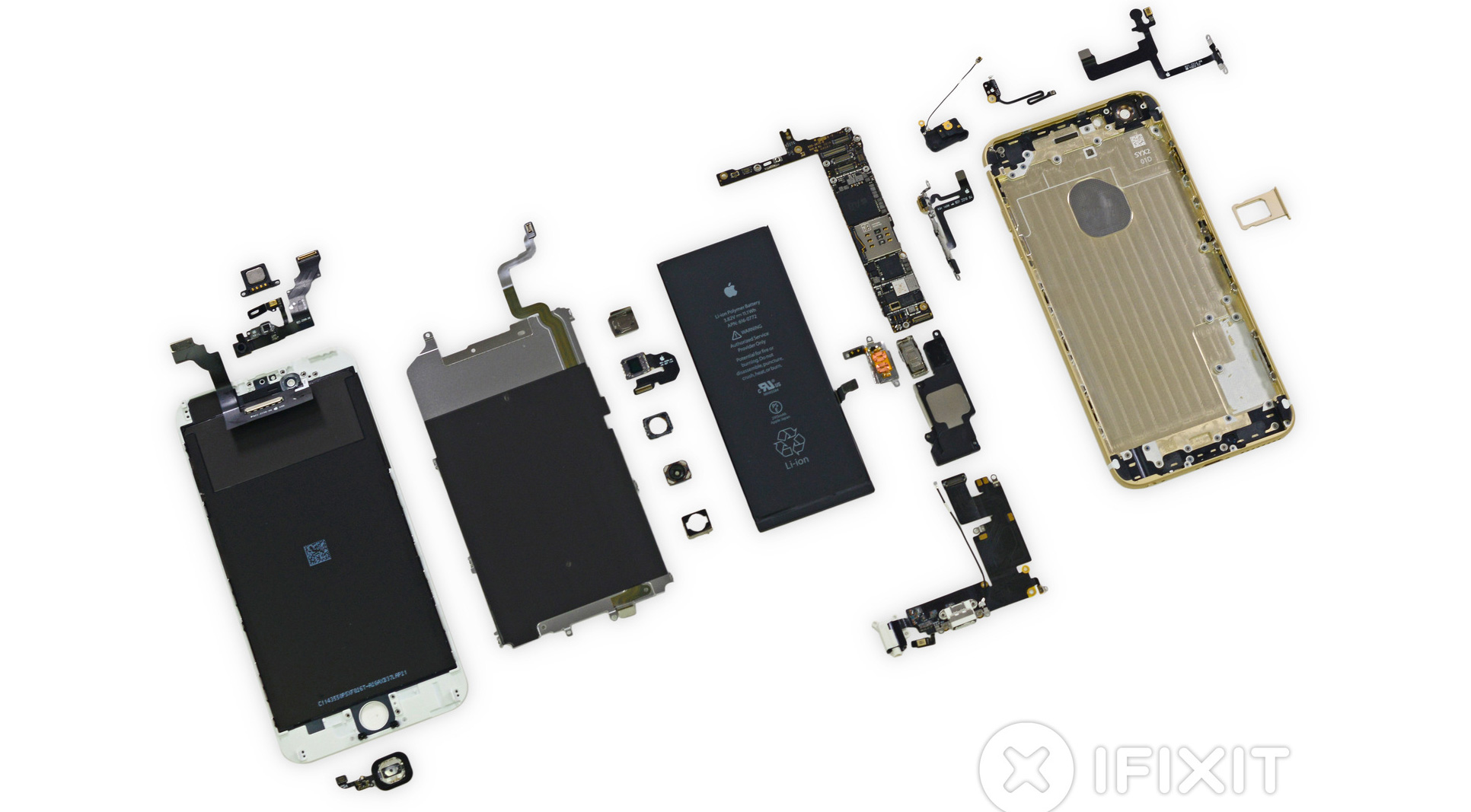 iphone 4 disassembly diagram 1980 shovelhead wiring 6 and plus launch day teardowns drop