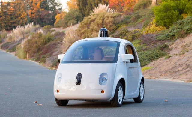 Google's latest self-driving car prototype (December 2014)