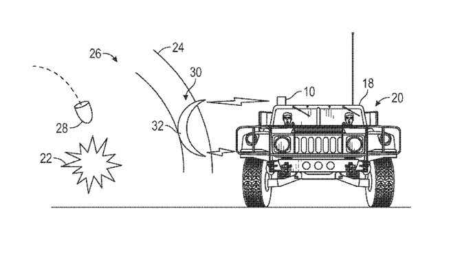 Boeing patents sci-fi force field that deflects explosive