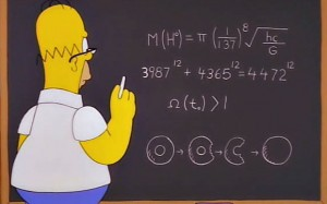Some have claimed that Homer Simpson predicted the Higgs boson via Matt Groening's propensity to hide very credible physics in The Simpsons.