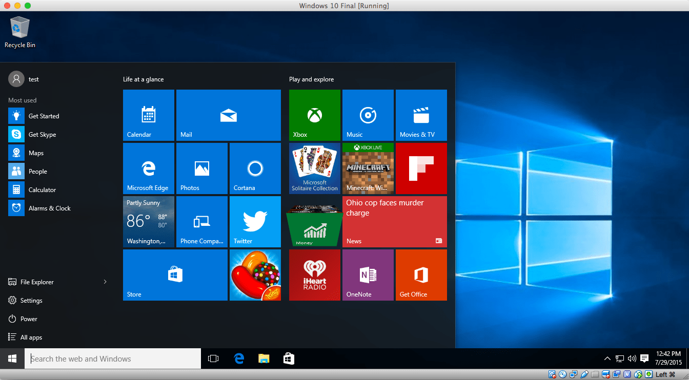 Microsofts new Windows 10 build can tie licenses to your online account  ExtremeTech