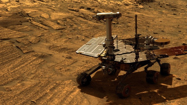 Image result for Opportunity rover on Mars