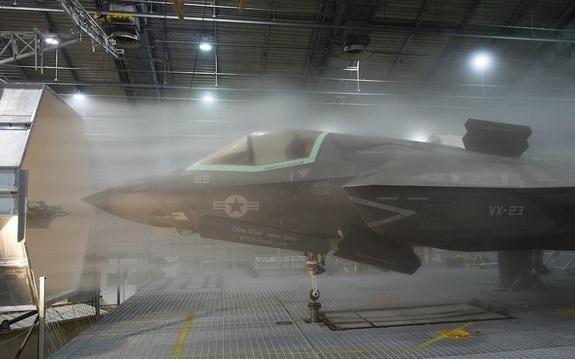 F-35 wind testing