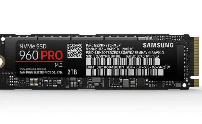 Samsung Unveils Next Generation 960 Pro 960 Evo M 2 Ssds