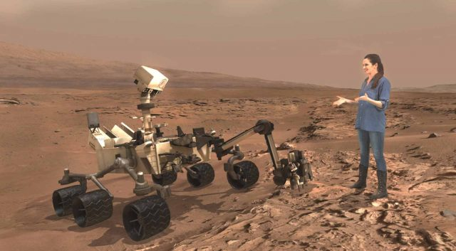 Microsoft's Mars demo is one of the most compelling MR demos