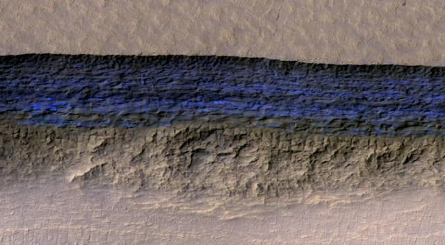 mars ice