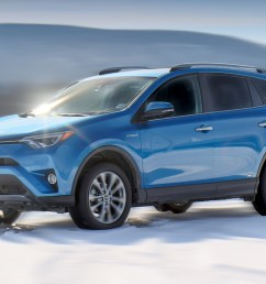 2018 toyota rav4 hybrid review solid roomy performer gets 30 mpg [ 1344 x 768 Pixel ]