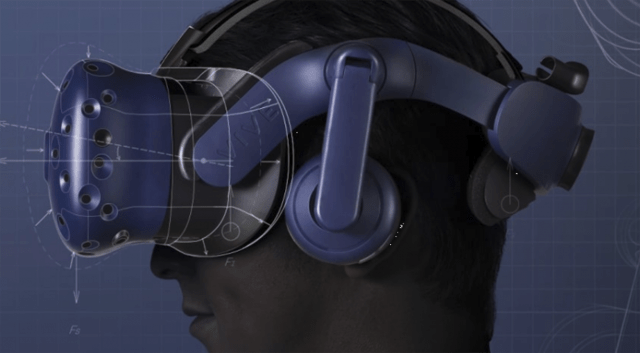 HTC Vive Pro has been designed for increased comfort compared to currently marketed headsets