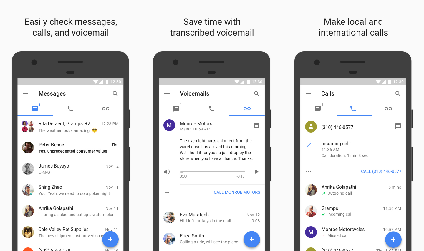 Google Begins Testing Wi-Fi Calls for Google Voice