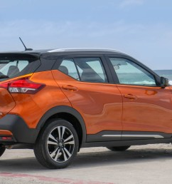 2018 nissan kicks car review affordable subcompact suv for 4 adults [ 1344 x 743 Pixel ]