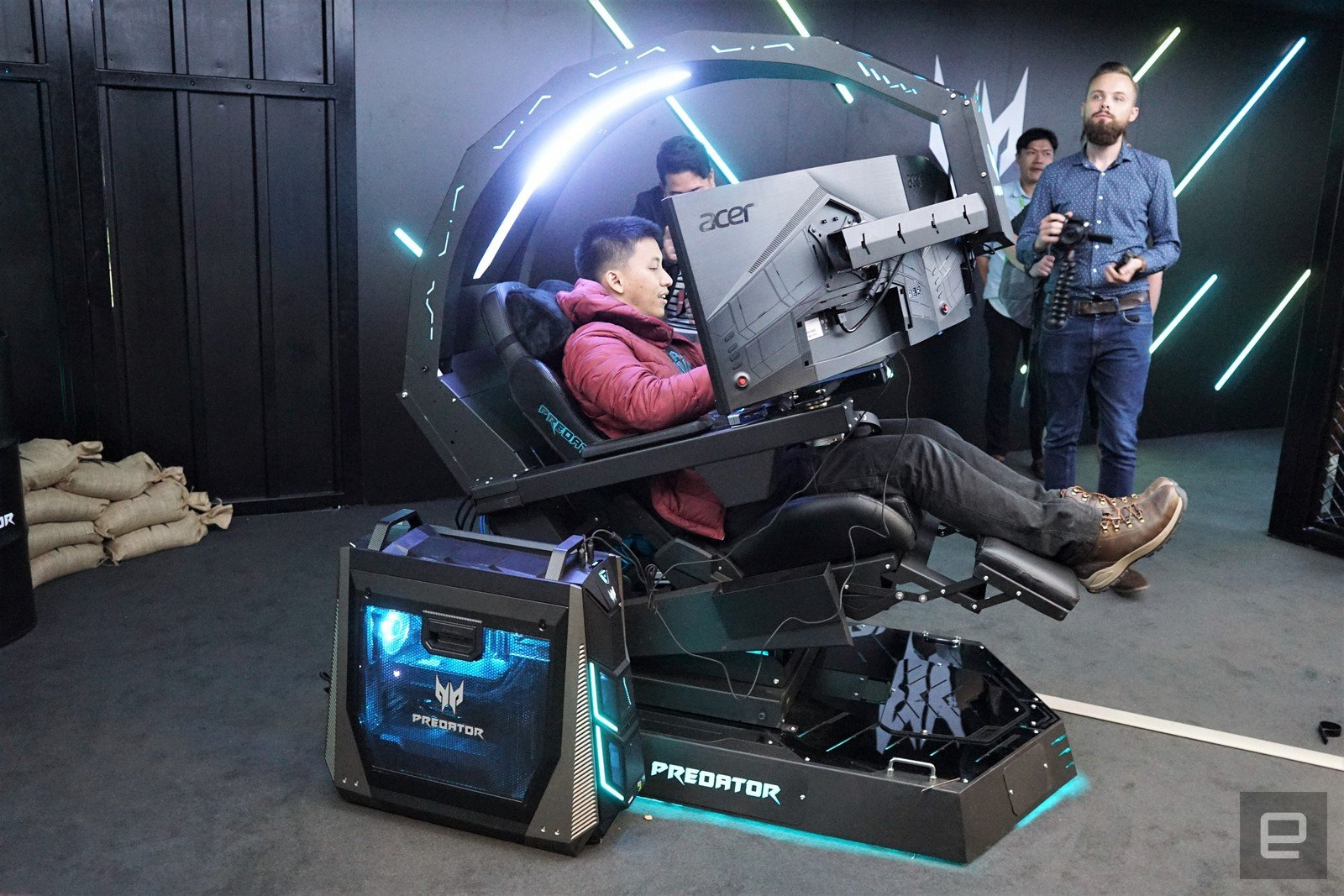 how much does a gaming chair cost seat cushions for office chairs acer unveils absurd insane predator thronos