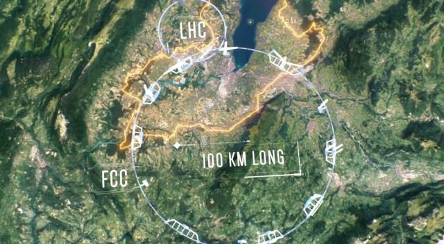 CERN Reveals Plans for Particle Collider Four Times Larger Than LHC 1