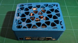 nvr fully assembled nvr base with 3D printed homebrew case