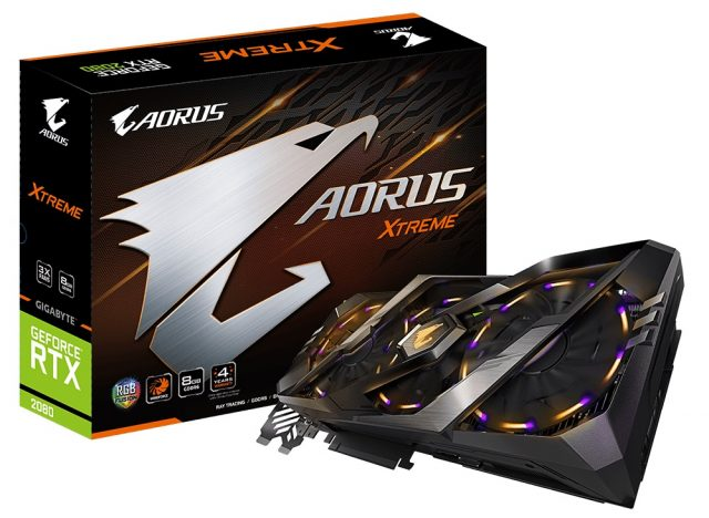 Review: Gigabyte Aorus GeForce RTX 2080 Xtreme 8G 4