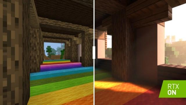 Minecraft-RTX-versus-Off