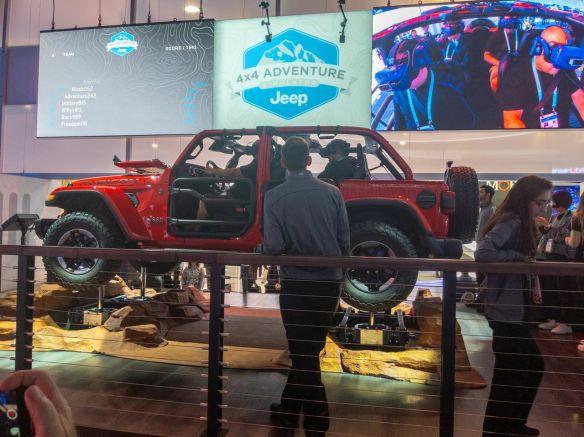 Jeep Adventure VR Ride