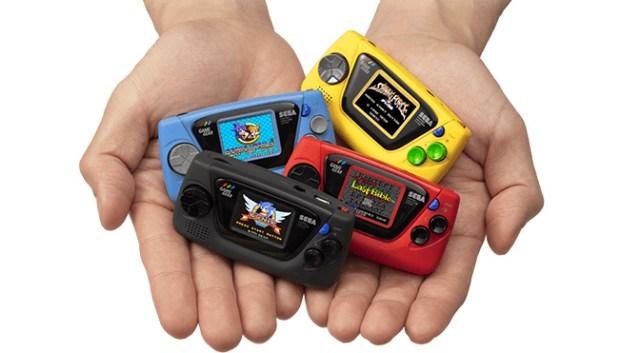 Sega Announces the Game Gear Micro in 4 Different Colors 2