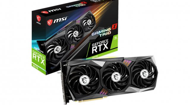 MSI's Nvidia RTX 3070 Gaming X Trio Review: 2080 Ti Performance, Pascal Pricing 1