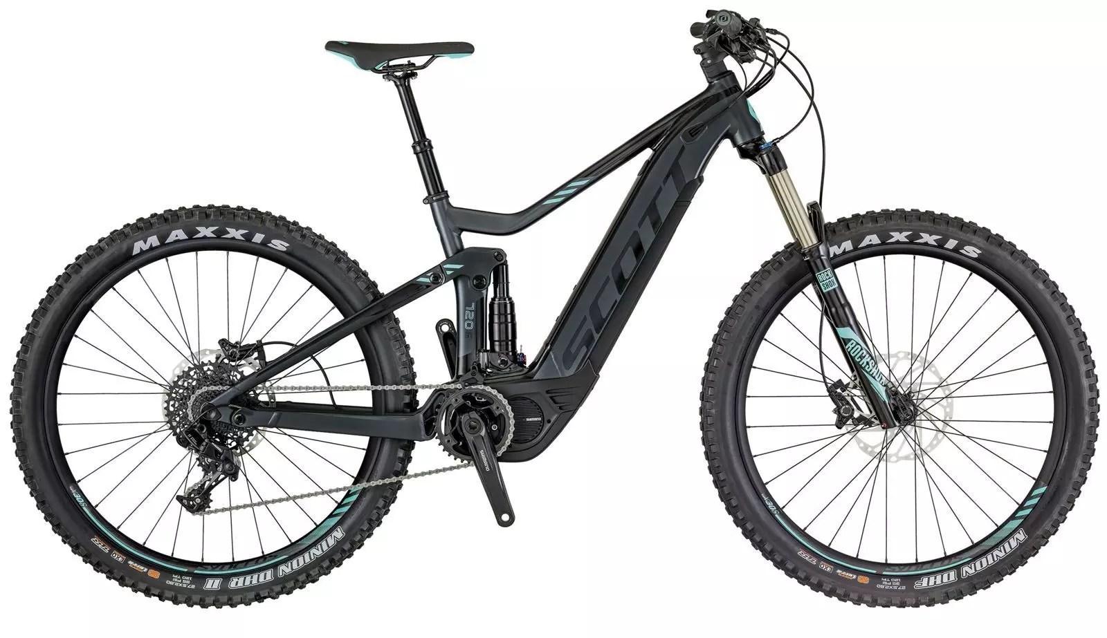 Scott Bicicletta Elettrica E-Contessa Genius 720 2018