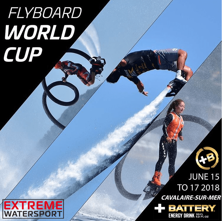 Flyboarding Worldcup 2018