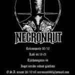 NECRONAUT Releaseparty – Kafé 44 30/10 2010