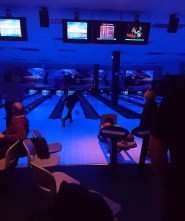 Some bowling at the venue