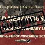 SOPHIA – Cold Meat Industry 30 Years Anniversary live!  3/11 2017 [Klubben]