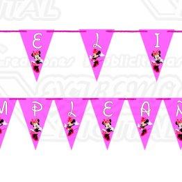 Banderines Personalizados 3pz