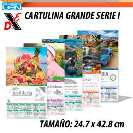 Calendario LEN serie I