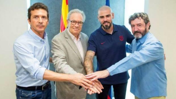 Víctor Valdés regresa al Barcelona como entrenador del juvenil A