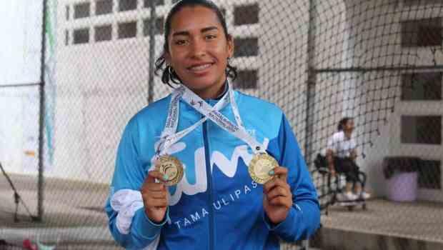 Continúa suma de medallas para Tamaulipas en Paralimpiada Nacional 2019