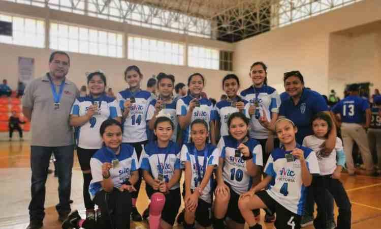 Logra Victoria corona estatal en handball