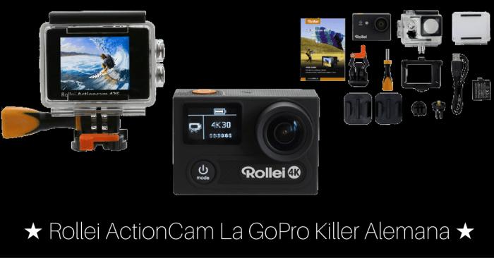 Analisis de las Rollei Actioncam, la GoPro killer alemana