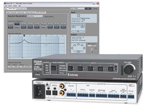 A Surround Sound Processor for Pro AV Integration  Extron
