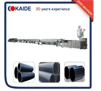 Plastic Pipe Extrusion Line for Large Diameter HDPE Pipe ...