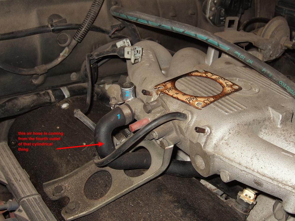Bmw 323i Vacuum Hose Diagram In Addition Bmw E36 Vacuum Hose Diagram