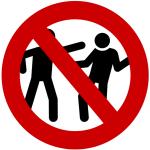 panneau stop agressions