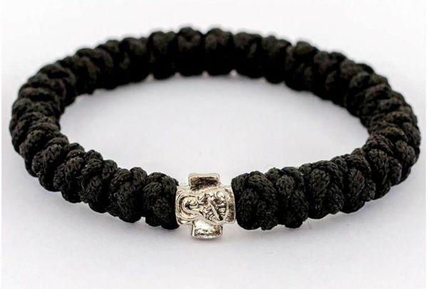 Black Prayer Rope Bracelet