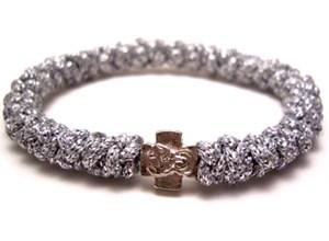 Silver Prayer Rope Bracelet