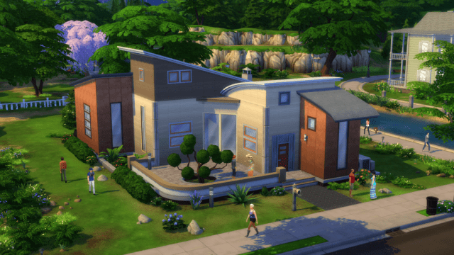 The Sims 4 Building