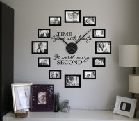 Time spent picture frame clock | picture frame wall clock