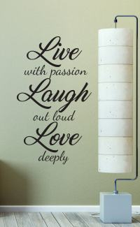 Add this beautiful Live Laugh Love wall decal sticker to ...