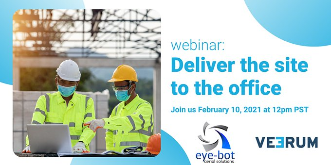 Webinar: Deliver the Site to the Office, you will learn how you can generate new value for your organization with specialized data capture and visualization tools.